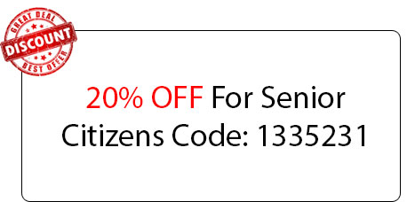 Senior Citizens 20% OFF - Locksmith at Batavia, IL - Batavia Il Locksmith